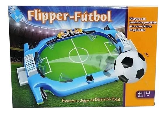 Metegol De Mesa Flipper Futbol El Duende Azul 6649
