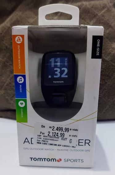 Relógio Monitor Tomtom Adventure Cardio + Music (vitrine)