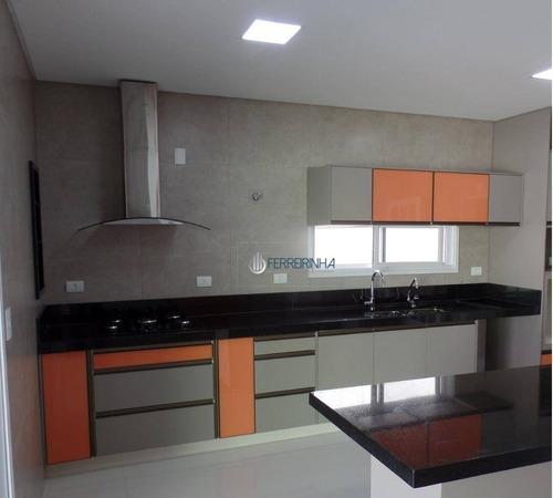 Casa Com 4 Dormitórios À Venda, 420 M² Por R$ 1.700.000,00 - Urbanova - São José Dos Campos/sp - Ca1524