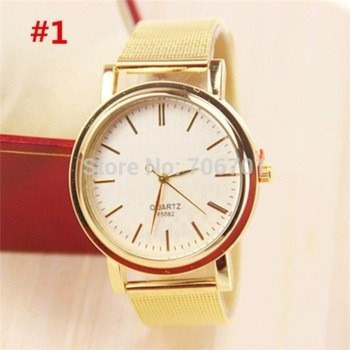 Relógio Quartzo Clássico Homens/mulheres