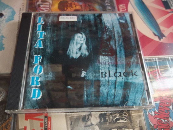 Lita Ford - Black - Cd Ed 1995 Canada - Garantia Abbey Road