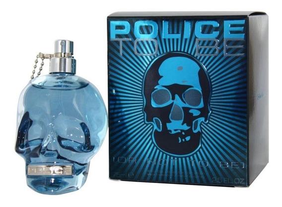 Perfume Police To Be Edt 75ml Original Lacrado