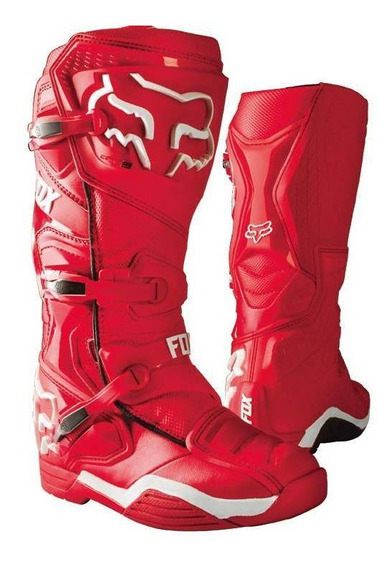 Bota Fox Comp 8 Talle Usa 12 Roja La2018