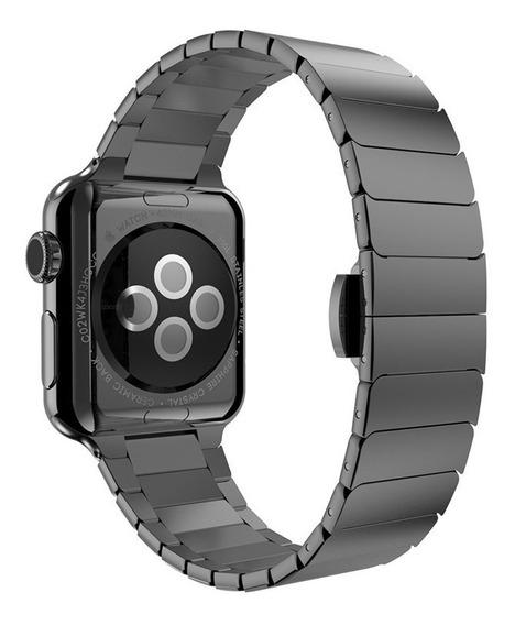 Pulseira Aço Inox Para Relógio Apple Watch Séries 1/2/3/4...