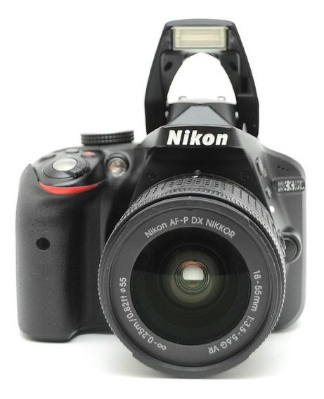 Nikon D3300 + Af-p 18-55mm Perfeita = D3200 D90 D7100 D5100
