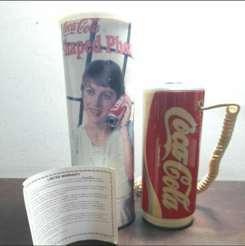 Telefone Coca Cola Antigo Funcionando Made Usa