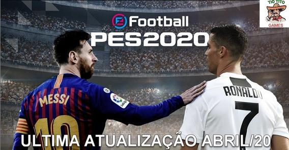 Patch Pes2020 E Vai Junto O Jogo Pes2018 - Xbox 360