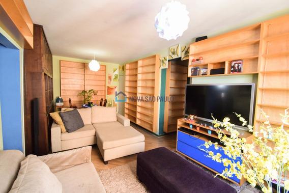 Ótimo Apartamento 5 A Pé Minutos Do Metro Ana Rosa. - Bi24347