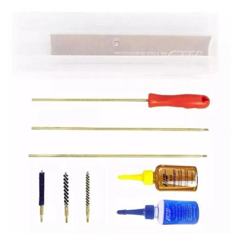 Kit Limpeza Lh Espingarda Carabina Rifle Calibre 38