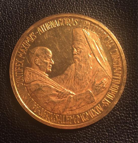 Moeda Ouro 22k - Papa João Xxiii - Vaticano - 29,95g