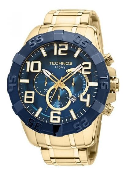 Relógio Technos Masculino Classic Legacy Os20iq/4a Azul/