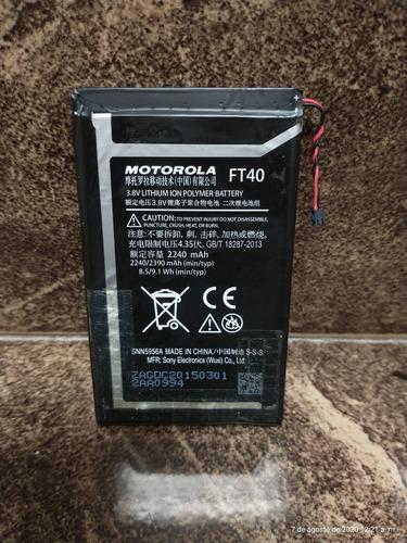 Batería Ft40 Original Moto E2