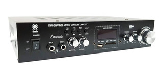 Amplificador Perifoneo Ambiental Estereo Usb Sd Bluetooth Fm