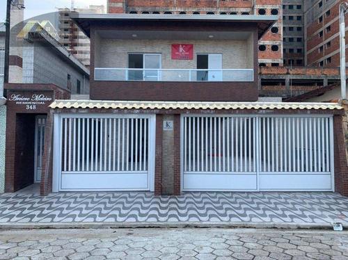 Imagem 1 de 11 de Casa Com 2 Dormitórios À Venda, 63 M² Por R$ 265.000 - Ocian - Praia Grande/sp - Ca0315