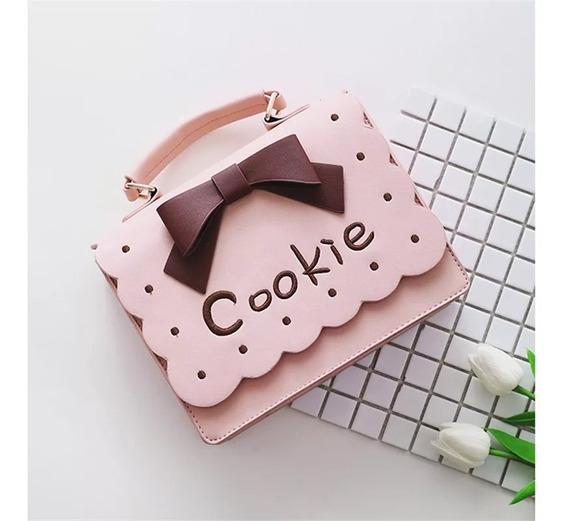 Crossbody Bandolera Cookies Galleta Rosa