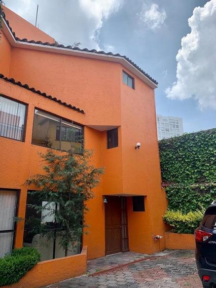 Casa En Condominio En Venta O Renta En Castorena Cuajimalpa