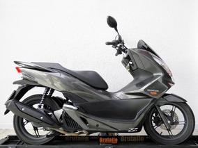 Honda Pcx 150 Cinza 2016