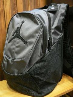 Mochila Jordan Jumpman Elementary Bagpack Silver Elep Print