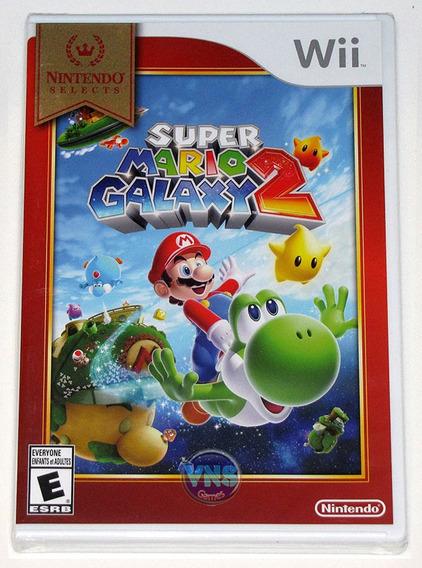 Super Mario Galaxy 2 - Wii - Americano - Lacrado