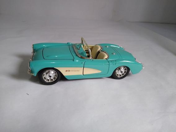 Carro A Escala Coleccion Burago Italiano Chevrolet Corvette