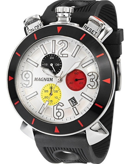 Relógio Magnum Masculino Original Garantia Nota Ma33344q
