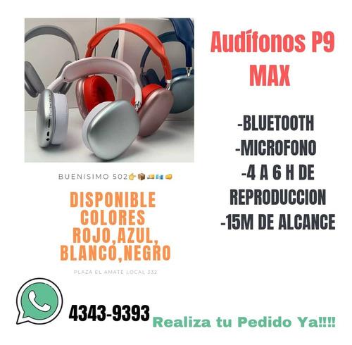 Audífonos P9 Max