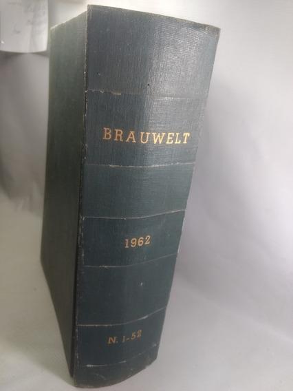 Livro Em Alemao Buch Auf Deutsh Brauwelt Antigo 1962