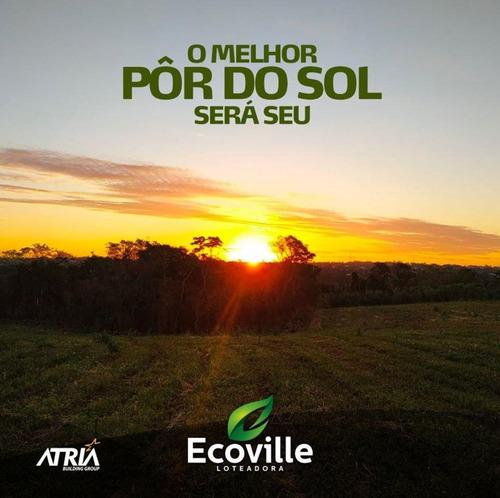 Imagem 1 de 9 de Terreno Em Ótima Localização No Loteamento Ecoville - Te0415