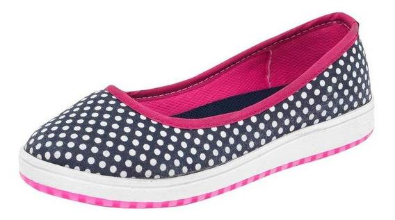 Tenis Peyton Niña 010 Color Marino Talla 18-21 -shoes