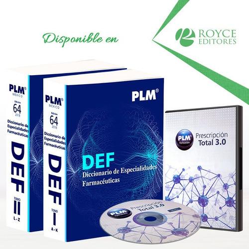 Imagen 1 de 1 de Def 2018 Diccionario De Especialidades Farmacéuticas 2 Vols