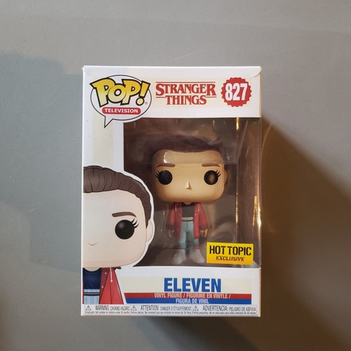 Funko Pop Stranger Things Eleven #827 Hot Topic Exclusive