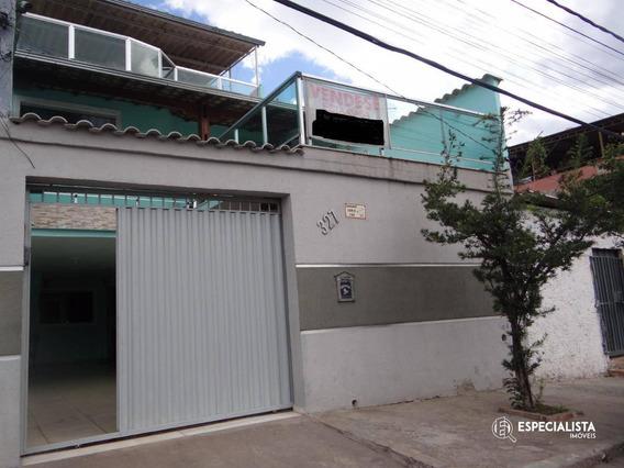 Casa Com 3 Dormitórios À Venda, 300 M² Por R$ 300.000 - São Benedito - Santa Luzia/mg - Ca0178