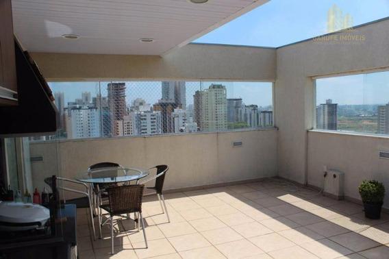 Cobertura Com 3 Dormitórios À Venda, 196 M² Por R$ 980.000,00 - Jardim Aquarius - São José Dos Campos/sp - Co0003