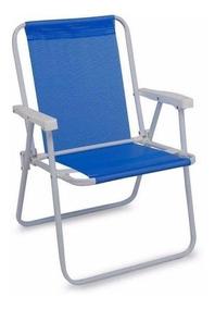 Posições Cadeira Praia Assento Alta Resistente Sentada Sol