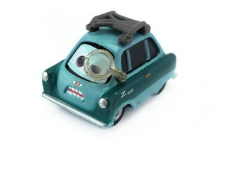 Carros Disney Professor Z - Mattel (raridade)