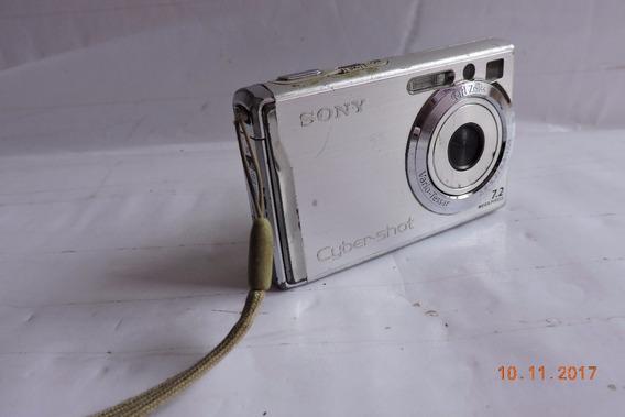 Câmera Digital Sony Cyber-shot 7.2 Sem Bateria No Estado