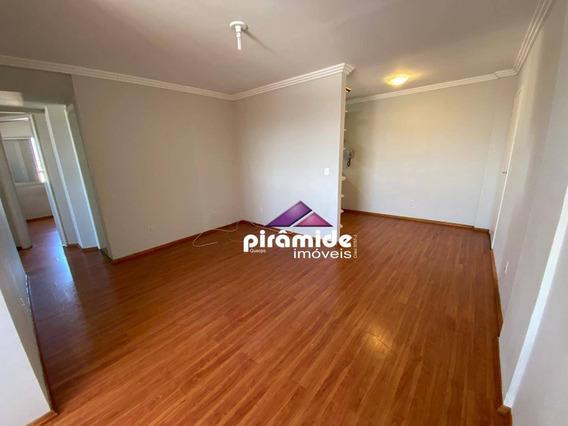 Apartamento Com 3 Dormitórios, 74 M² - Venda Por R$ 300.000,00 Ou Aluguel Por R$ 1.200,00/mês - Jardim São Dimas - São José Dos Campos/sp - Ap12225