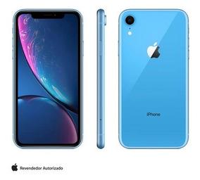 iPhone Xr Azul, Com Tela De 6,1 , 4g, 128gb 12 Mp Mryh2bz/a