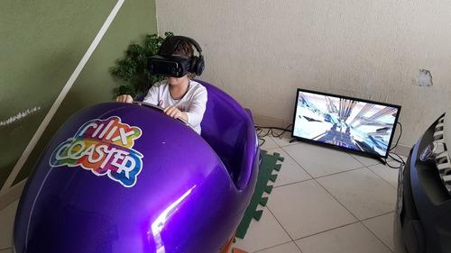 Imagem 1 de 2 de Simulador De Montanha Russa Realidade Virtual Relix Coaster