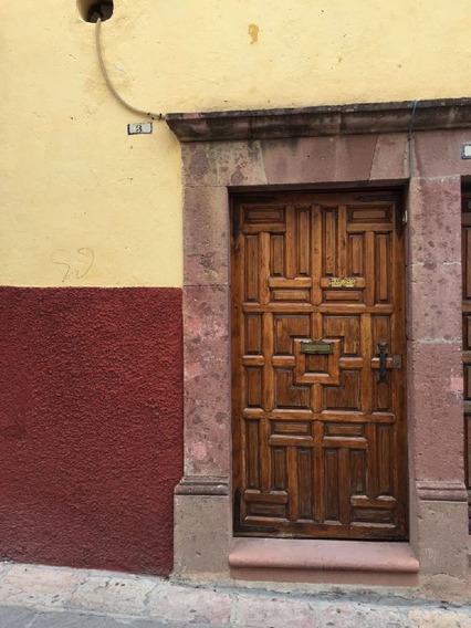 Departamento En Renta En El Corazón De San Miguel De Allende, Gto.