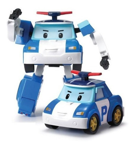Imagen 1 de 2 de Robocar Poli Vehículo Transformable 83171