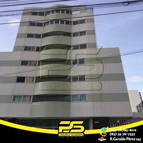 Apartamento Duplex Com 2 Dormitórios À Venda, 65 M² Por R$ 285.000 - Manaíra - João Pessoa/pb - Ad0013