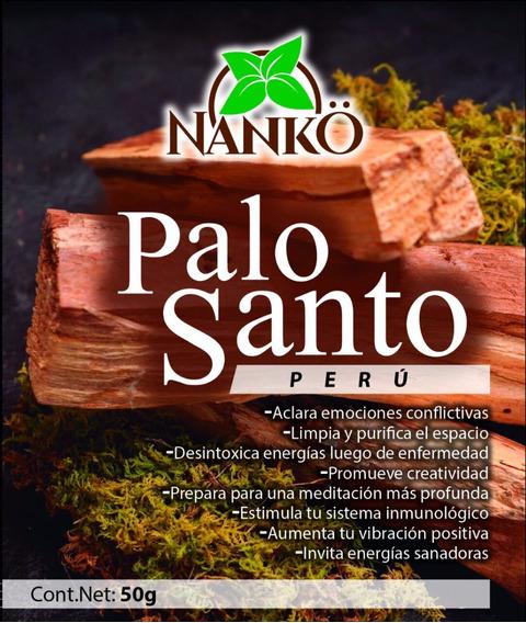 Palo Santo Orgánico.100% Perúano. 50 Gramos