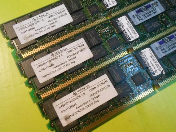 Memoria Infineon Para Servidor Ddr 266 1gb Ecc Server