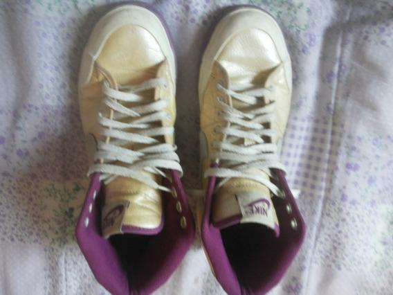 Lindo Tenis Nike Feminino Cano Alto