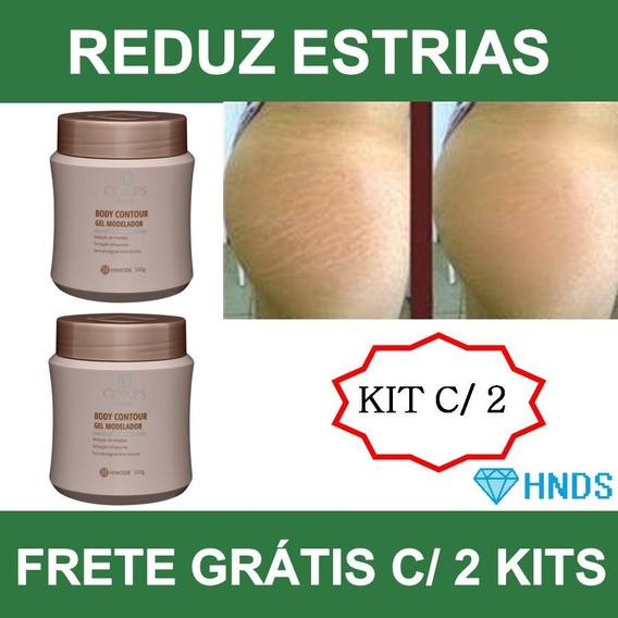 Reduza Estrias Celulite Medidas Creme Gel Corps Hinode -2 Un