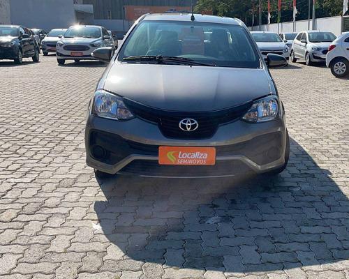 Imagem 1 de 9 de Toyota Etios 1.5 X Sedan 16v Flex 4p Automático