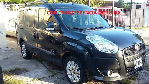 Fiat Doblo 1.4 Active Family 7 As High Sec Pat 2015 Octubre