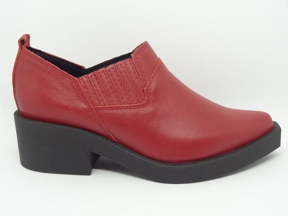 Zapatito Zapato Savage Moda Mujer Cuero