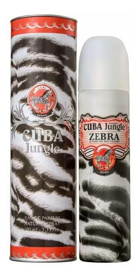 Perfume Cuba Jungle Zebra Eau De Parfum 100 Ml - Selo Autenticidade Adipec